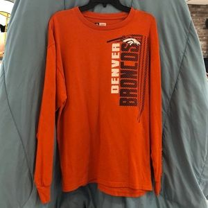 Denver Broncos Long Sleeve T Shirt